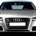 Audi A7 Sportback 2013 front view