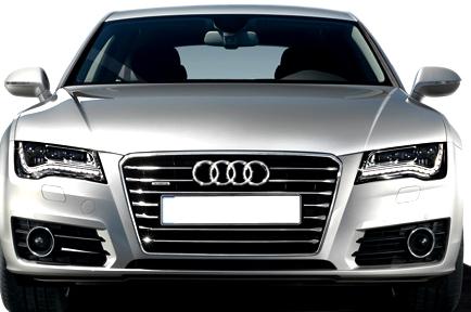 Audi A7 Sportback 2013 front view