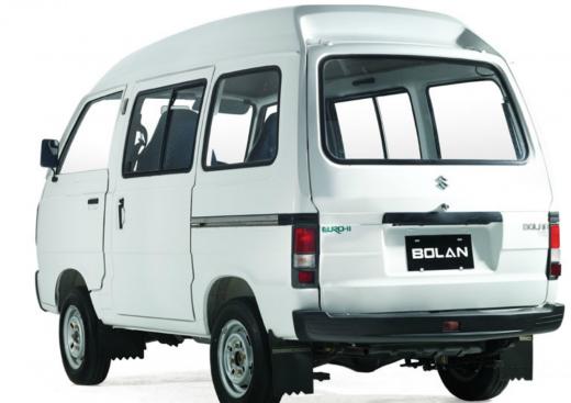 Suzuki Bolan VX EURO II 2013 back view