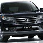 Honda CR V 2.4 Litre 2013 Front view