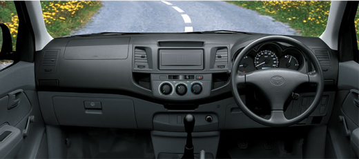 Toyota Hilux 4x2 Standard 2013 interior view