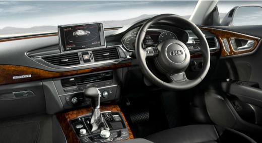 Audi A7 Sportback 2013 interior view