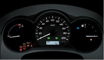 Toyota Hilux 4x2 Standard 2013 speed metar view