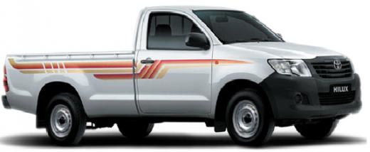 Toyota Hilux 4x2 Standard 2013 side view