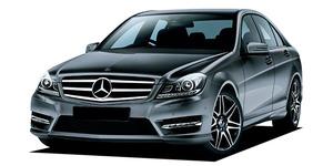Mercedes Benz C Class C250 Front View