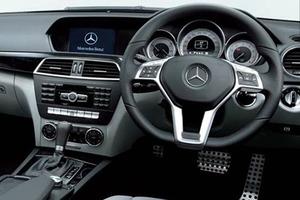 Mercedes Benz C Class C250 Inside View