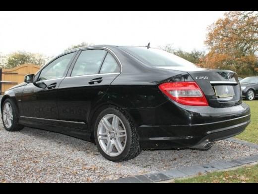 Mercedes Benz C Class C250 Back View