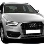 Audi Q3 Q3 Front View