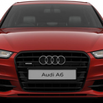 Audi A6 Saloon Front View