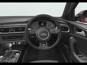 Audi A6 Saloon Interior View