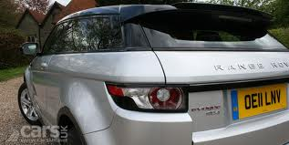 Range Rover Evoque 202 SD4 Back View