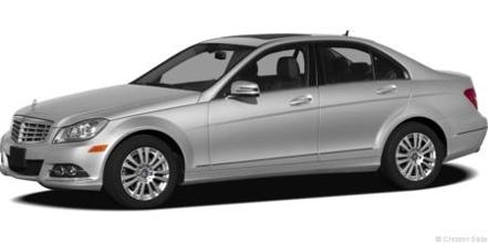 Mercedes Benz C Class C250 Side View