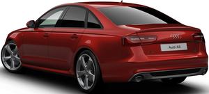 Audi A6 Saloon Back View
