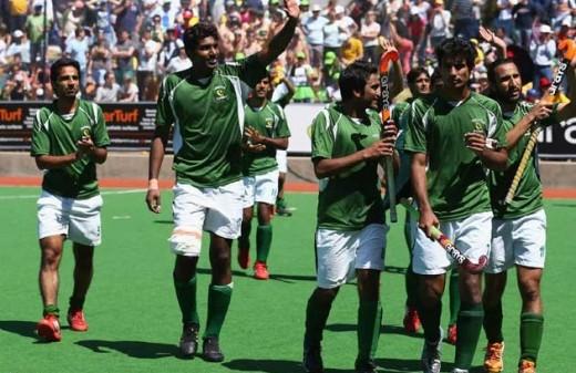 Pakistan Wins Hockey Asian Trophy 2013