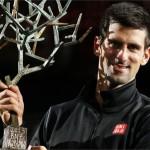 Novak Djokovic Wins Paris Masters Tennis Tournament