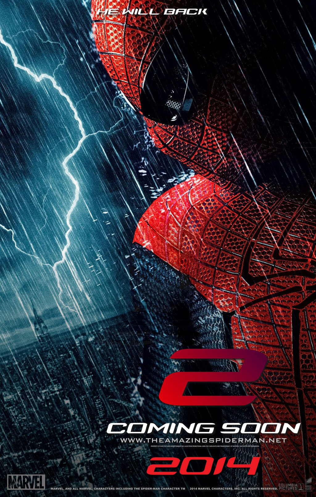 Movie The Amazing Spider Man 2 Poster | Pakistan.Jobz.pk