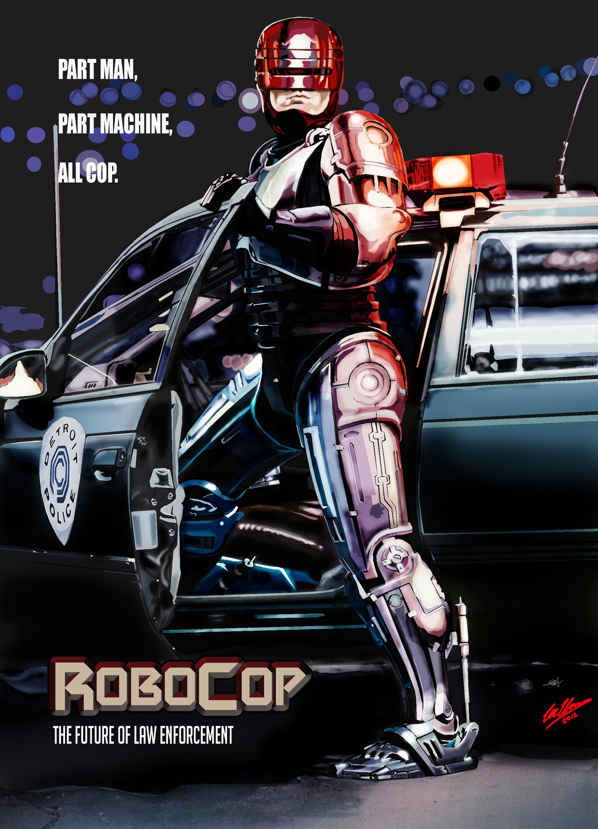 movie robocop poster