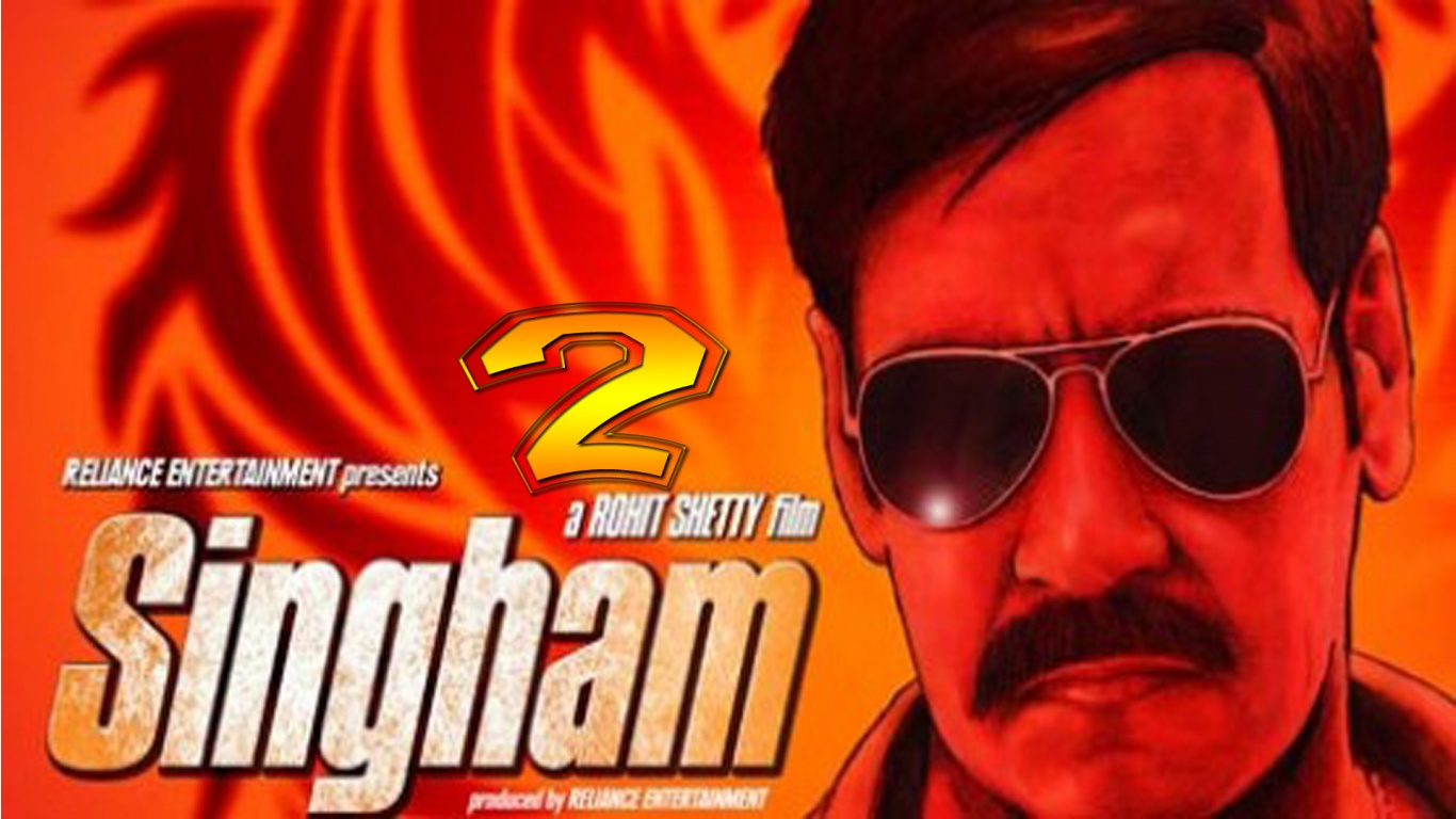 Indian movie Singham 2 2014 poster | Latest in Pakistan ...