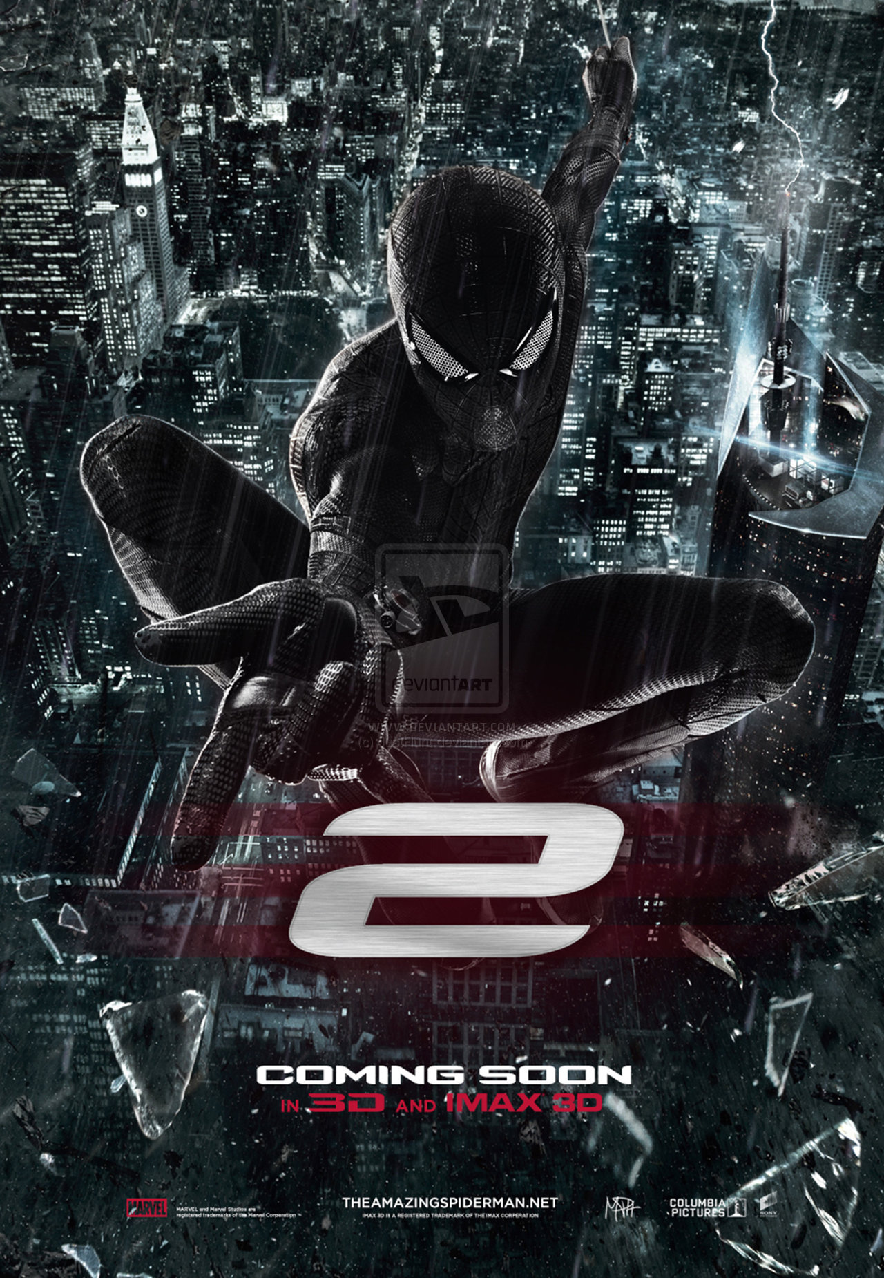 Hollywood Film The Amazing Spider Man 2 Poster