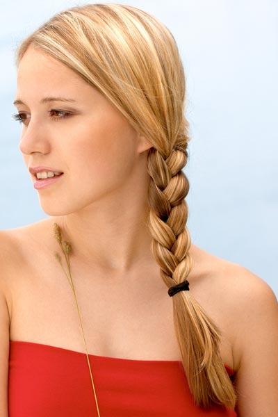 Side Braid Hair Pics