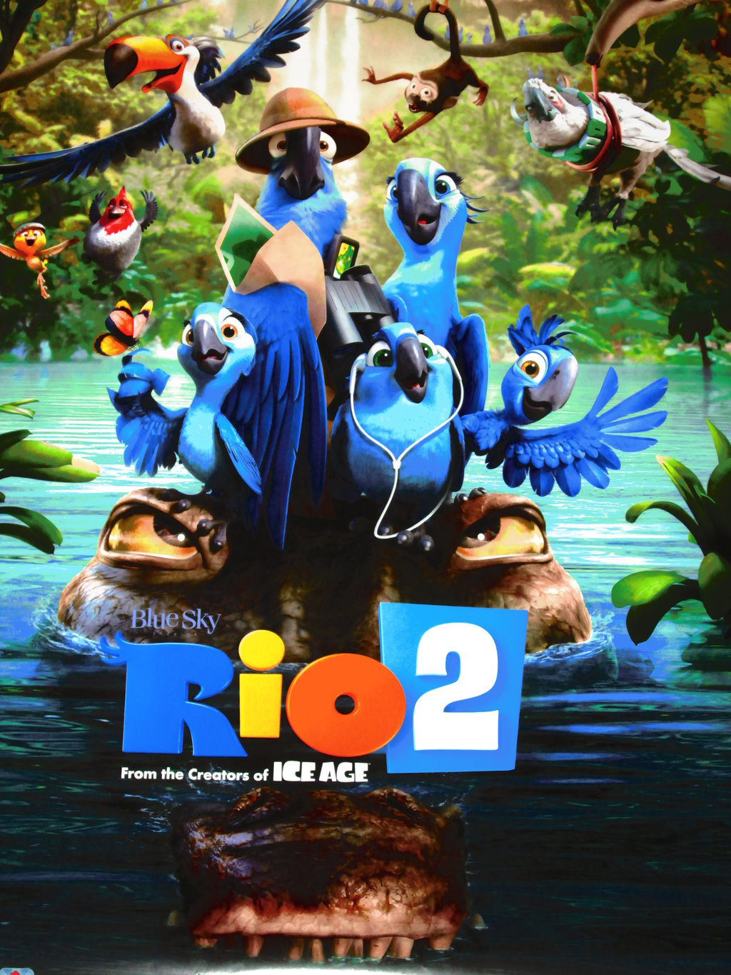 geo films banners releases rio 2 in pakistani on 11th april