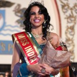 American Beauty Monica Gill wins Miss India Title 2014