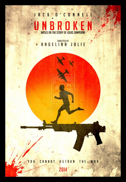 Hollywood Action Drama Movie Unbroken 2014