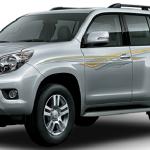 Toyota Prado 2.7L TX 2014 Front View