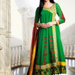 Fashion of Women Angrakha Frocks 2014