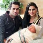 Veena Malik's son more popular on social media to Shilpa's son