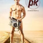 Aamir Khan PK Film 2014 Poster