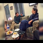 Imran Khan & Shahid Afridi Pictures