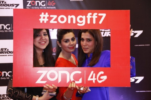 Zong Exclusive Premiere in Cinepax Ocean Mall Picture 01