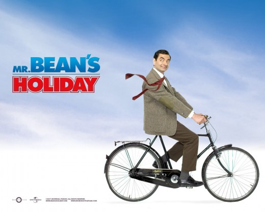 Mr. Bean Holiday Poster