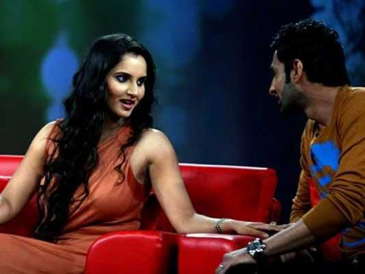 Sania Mirza and Shoaib Malik Images