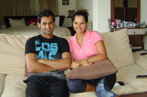 Sania Mirza and Shoaib Malik Picture
