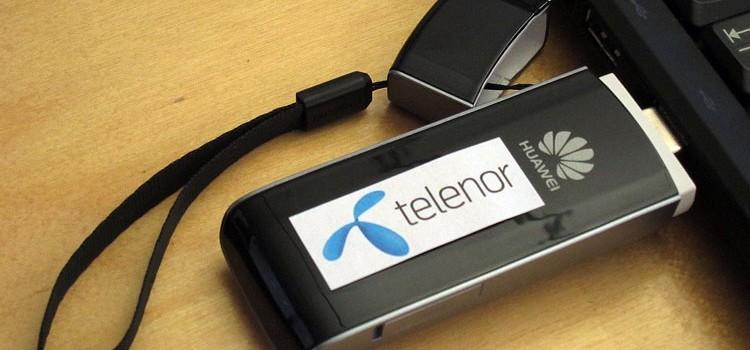 Telenor 3G Dongles