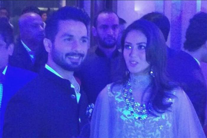 Shahid after wedding