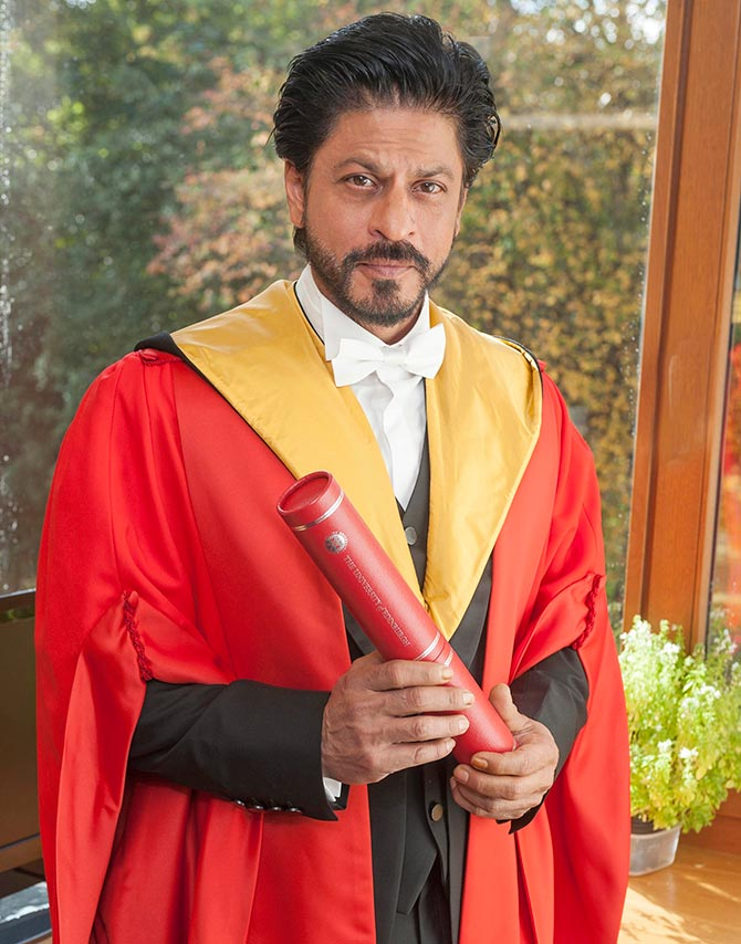 Shahrukh Khan Awarded with Honorary Doctorate
