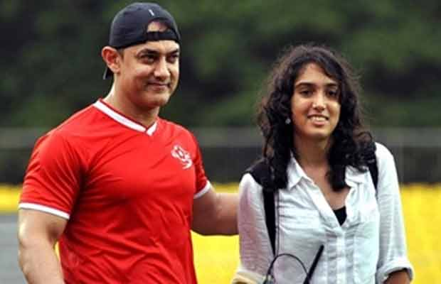 Aamir Khan with Daughter Ira Pictures