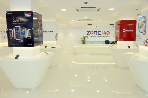 Zong Multi Brand Experience Center Hall