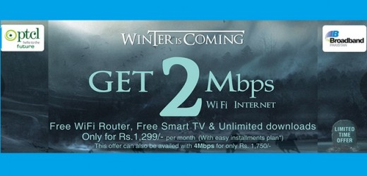 PTCL DSL Winter Package