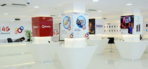 Zong Experience Centre