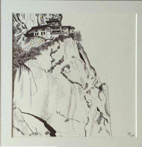 Ira's painting