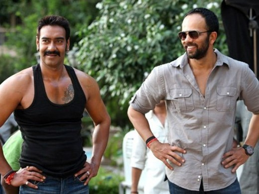 Ajay Devgan and Rohit Shetty
