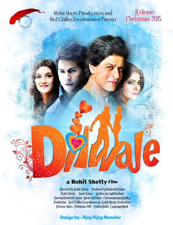 bollywood dilwale 2015 movie