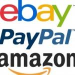 PayPal, Amazon & Ebay