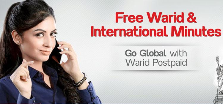 """Warid """"Go Global"""