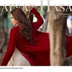 Zainab Hasan Women Winter Collection 2015 Dresses Pictures