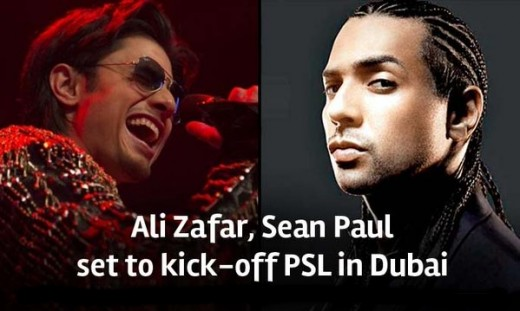 Ali Zafar and Seanpaul